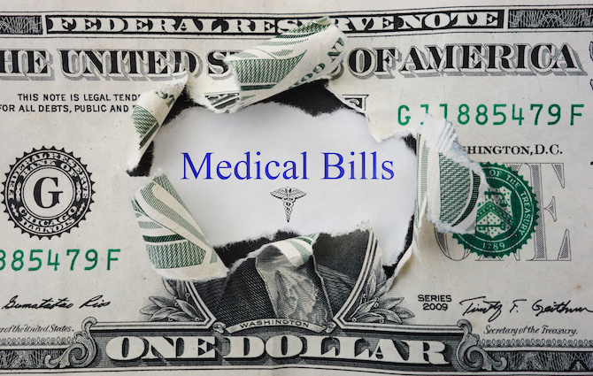 Medical Bills Are Out Of Control