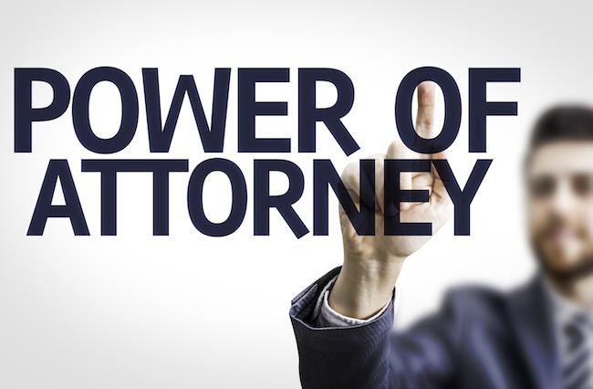 BPower Of Attorney